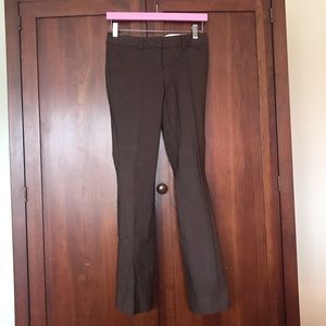 """The Limited """"Drew Fit"""" Brown Pants Size 0 Short"""